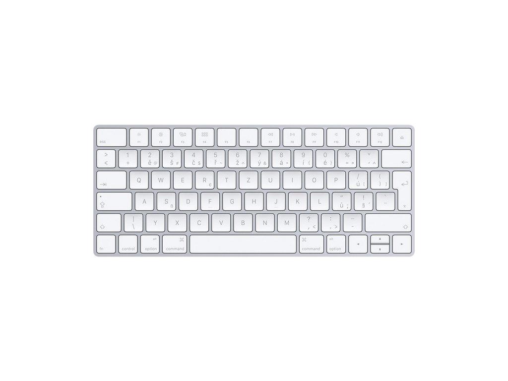 Klávesnice Apple Magic, CZ - bílá
