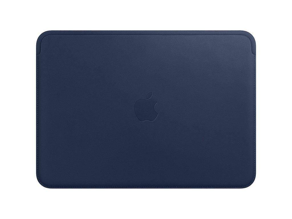 Pouzdro Apple Leather Sleeve pro MacBook 12 - půlnočně modrý