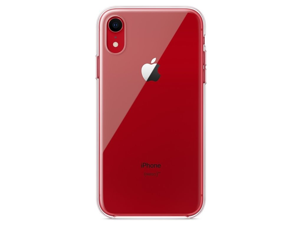 Kryt na mobil Apple Clear Case pro iPhone XR - průhledný