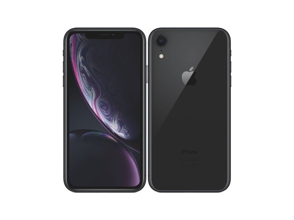 Mobilní telefon Apple iPhone XR 64 GB - black