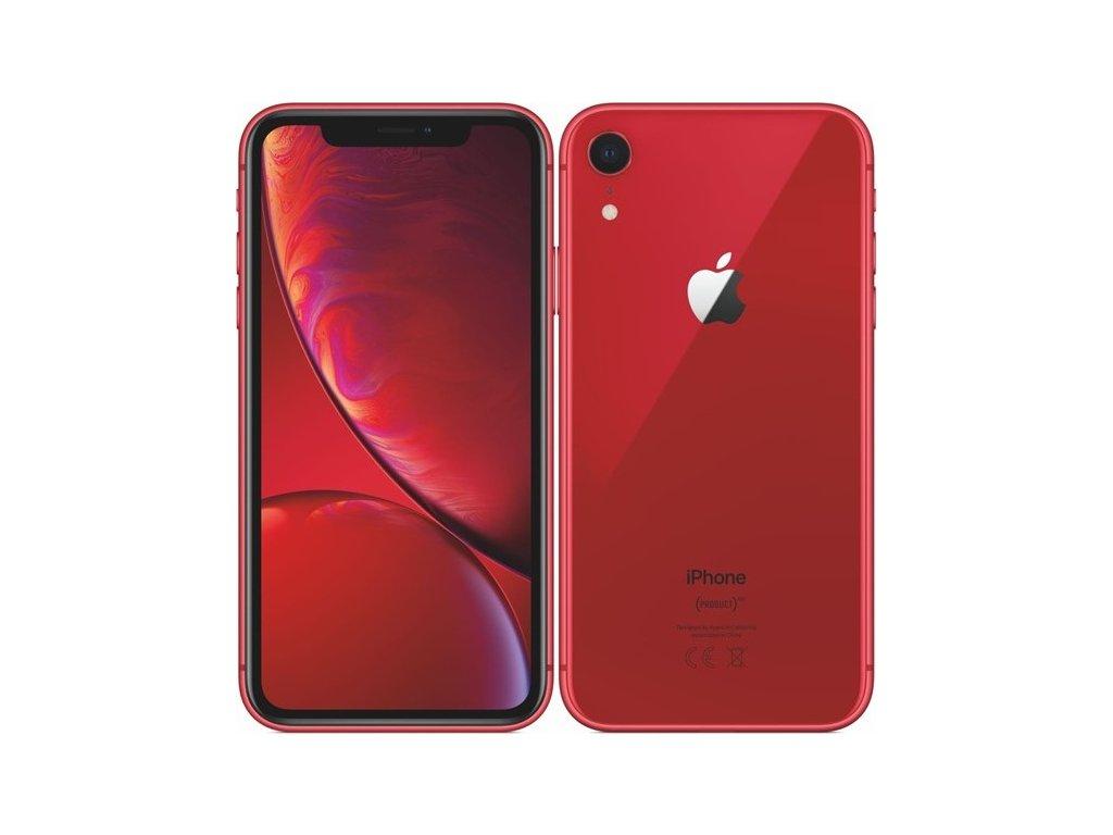 Mobilní telefon Apple iPhone XR 128 GB - (PRODUCT)RED