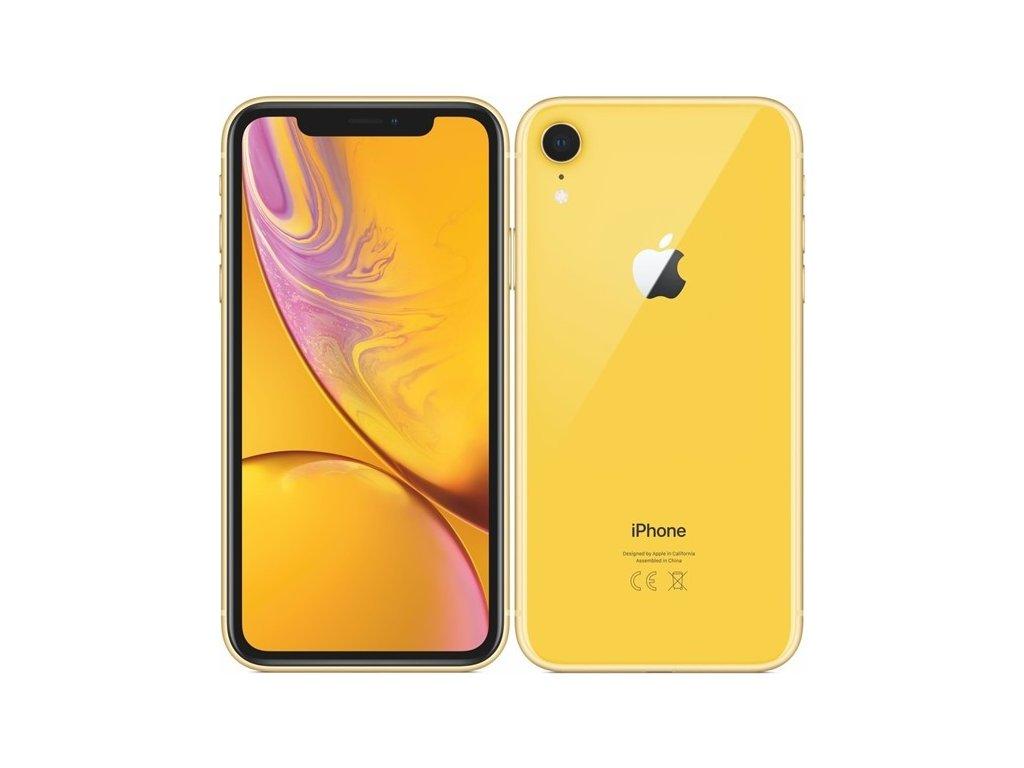 Mobilní telefon Apple iPhone XR 128 GB - yellow