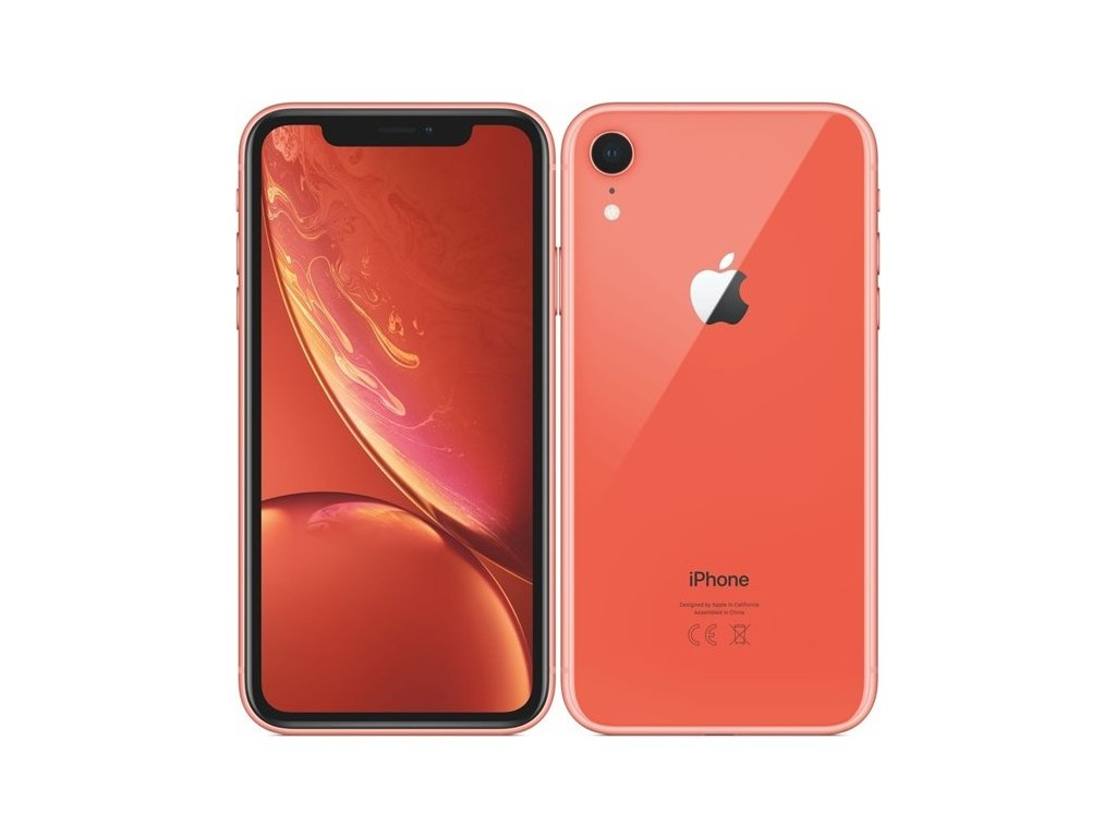 Mobilní telefon Apple iPhone XR 128 GB - coral