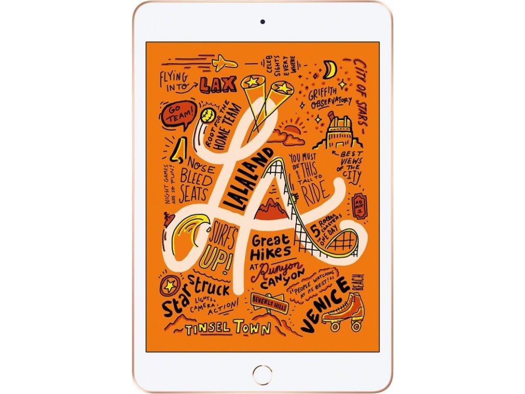 """Dotykový tablet Apple iPad mini (2019) Wi-Fi 64 GB - Gold 7.9"""", 64 GB, WF, BT, iOS 12"""
