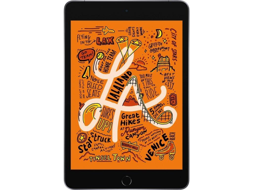 "Dotykový tablet Apple iPad mini (2019) Wi-Fi + Cellular 64 GB - Space Gray 7.9"", 64 GB, WF, BT, 3G, GPS, iOS 12"