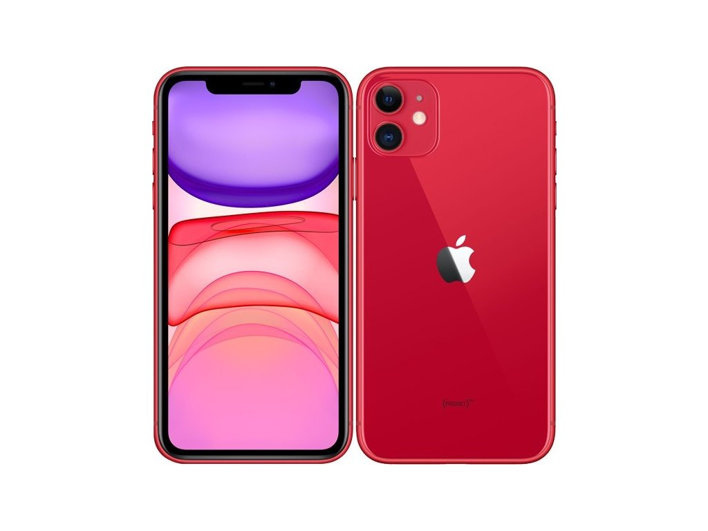 Mobilní telefon Apple iPhone 11 128 GB - (PRODUCT)RED