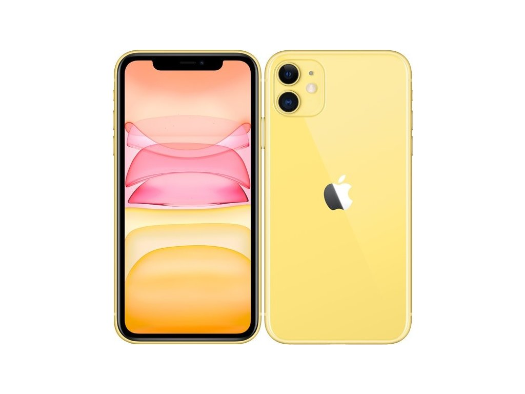 Mobilní telefon Apple iPhone 11 256 GB - Yellow