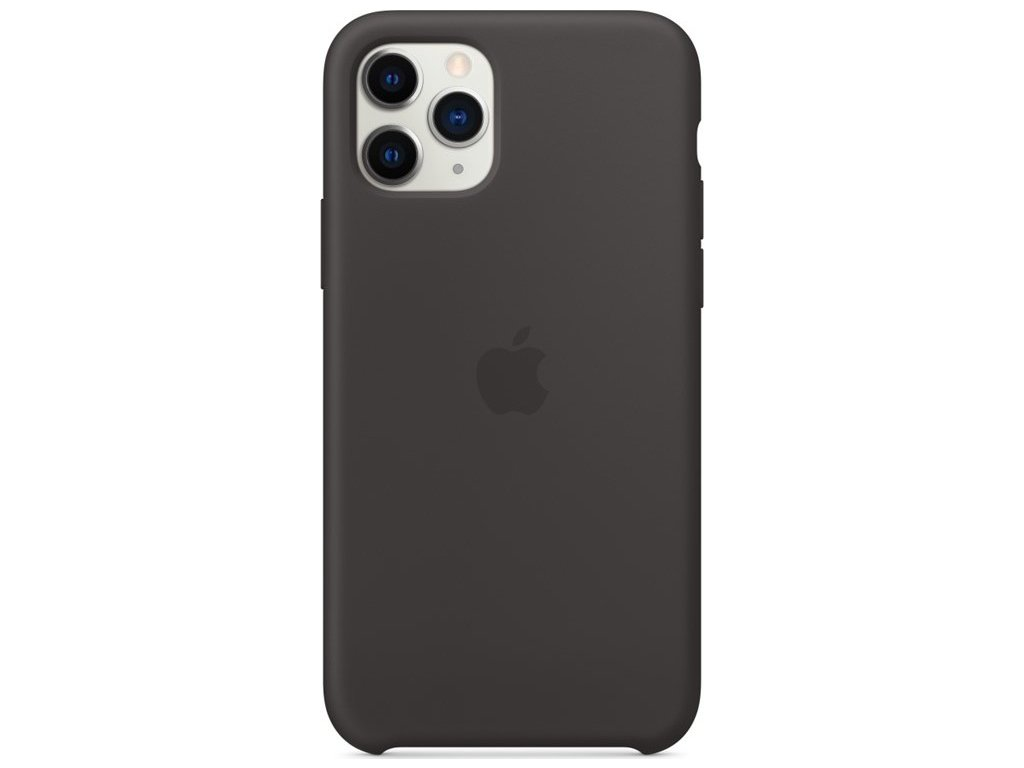 Kryt na mobil Apple Silicone Case pro iPhone 11 Pro - černý