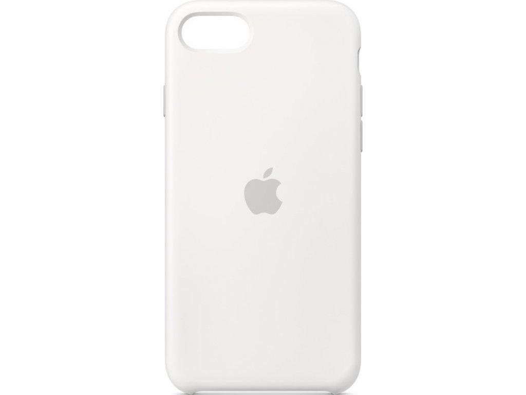 Kryt na mobil Apple  Silicone Case pro iPhone SE (2020) - bílý