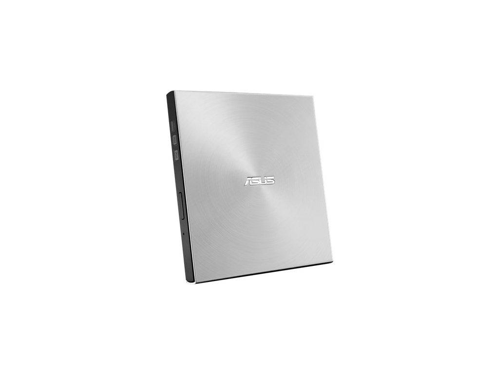 Externí DVD vypalovačka Asus SDRW-08U7M-U slim - stříbrná