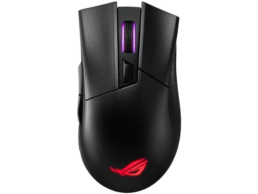 Myš Asus ROG Gladius II Wireless / optická/ 6 tlačítka / 16000DPI - černá