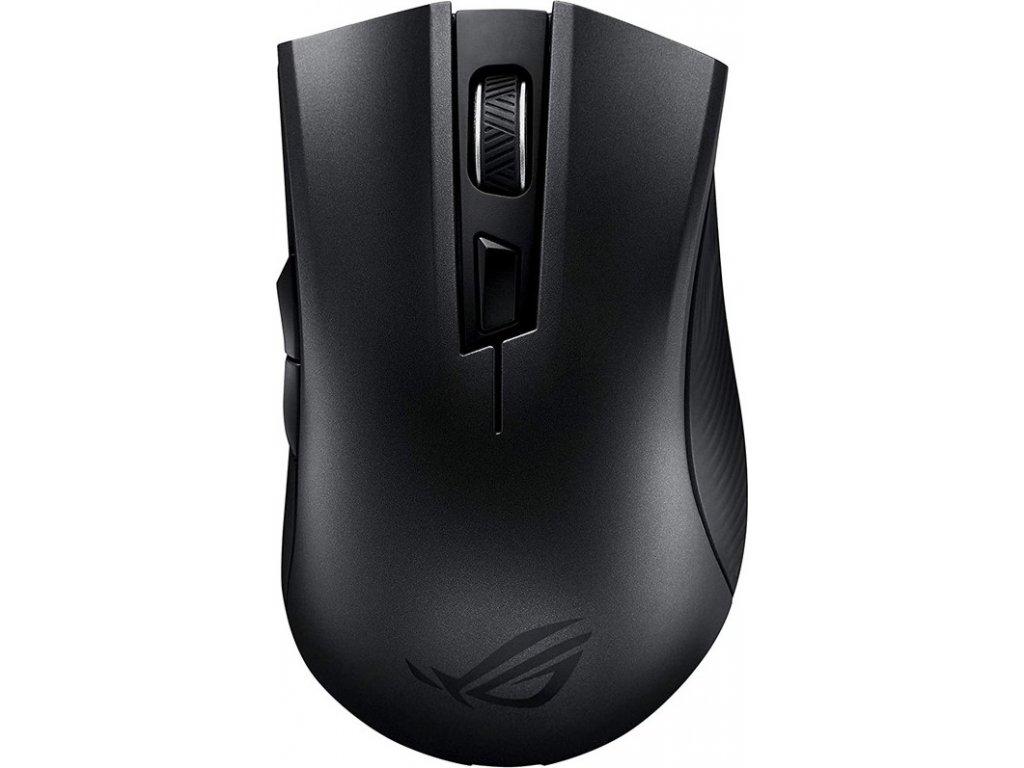 Myš Asus ROG Strix Carry / optická/ 6 tlačítka / 7200DPI - černá