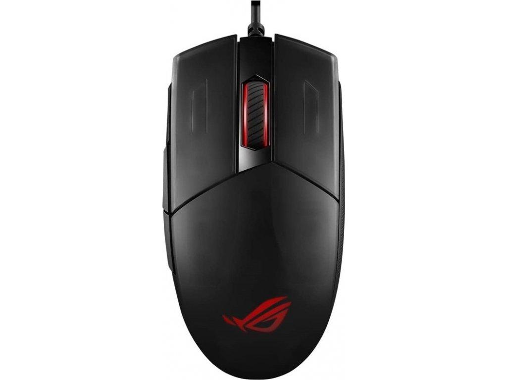 Myš Asus ROG Strix Impact II P506 / optická/ 5 tlačítka / 6200DPI - černá