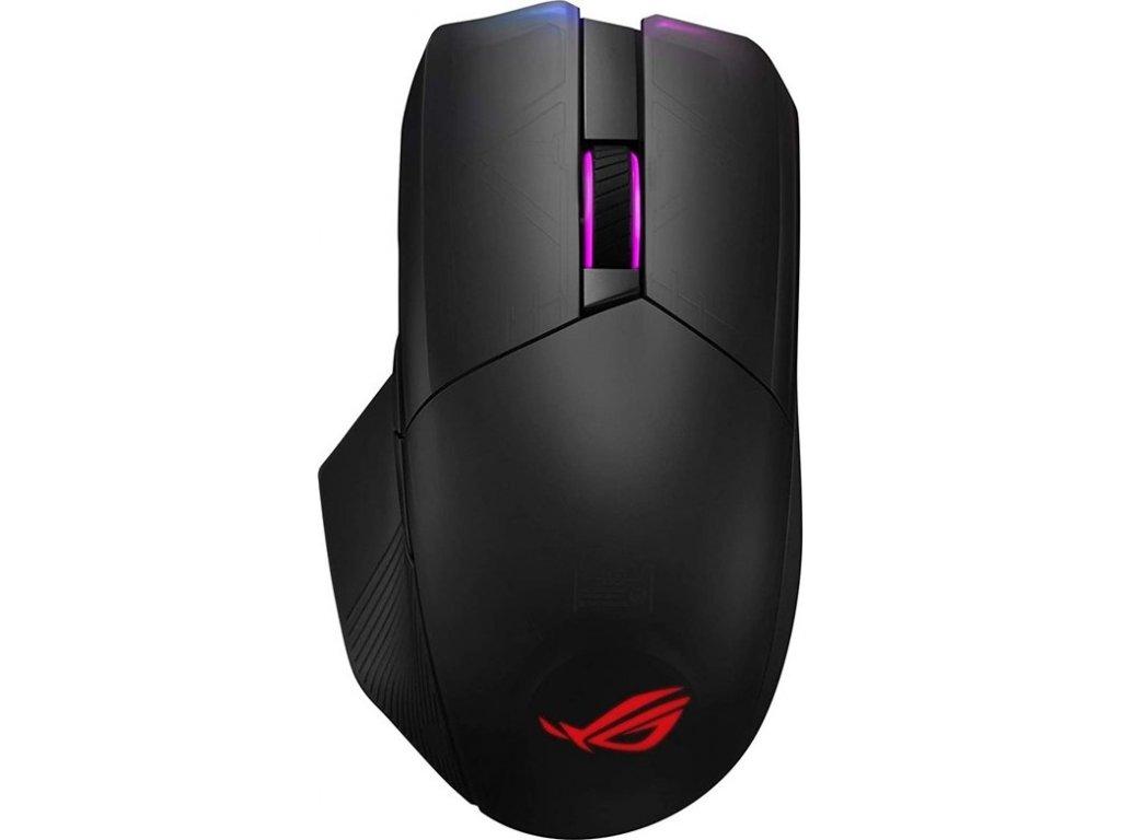 Myš Asus ROG Chakram / optická/ 6 tlačítka / 16000DPI - černá