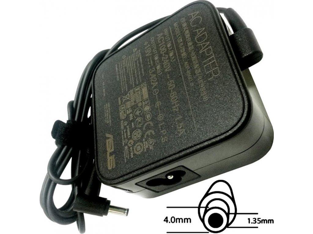 Napájecí adaptér Asus 65W 19V (W.M) BK 4PHI s EU plugem