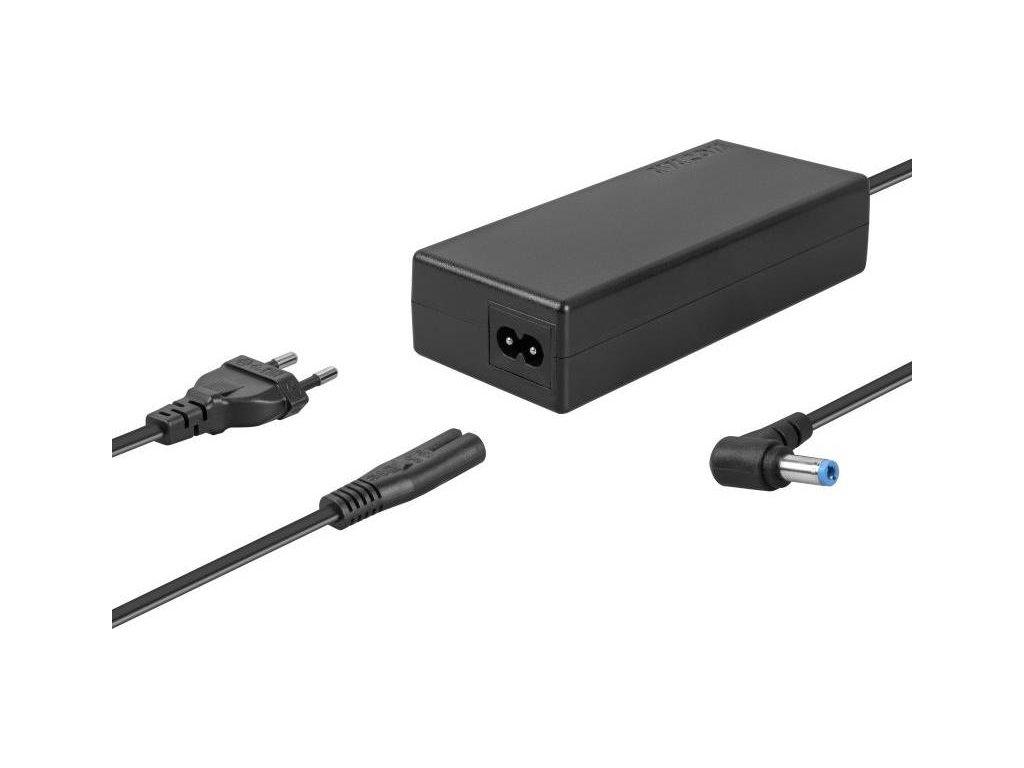 Napájecí adaptér Avacom pro notebooky 19V 4,74A 90W zahnutý konektor 5,5mm x 2,5mm