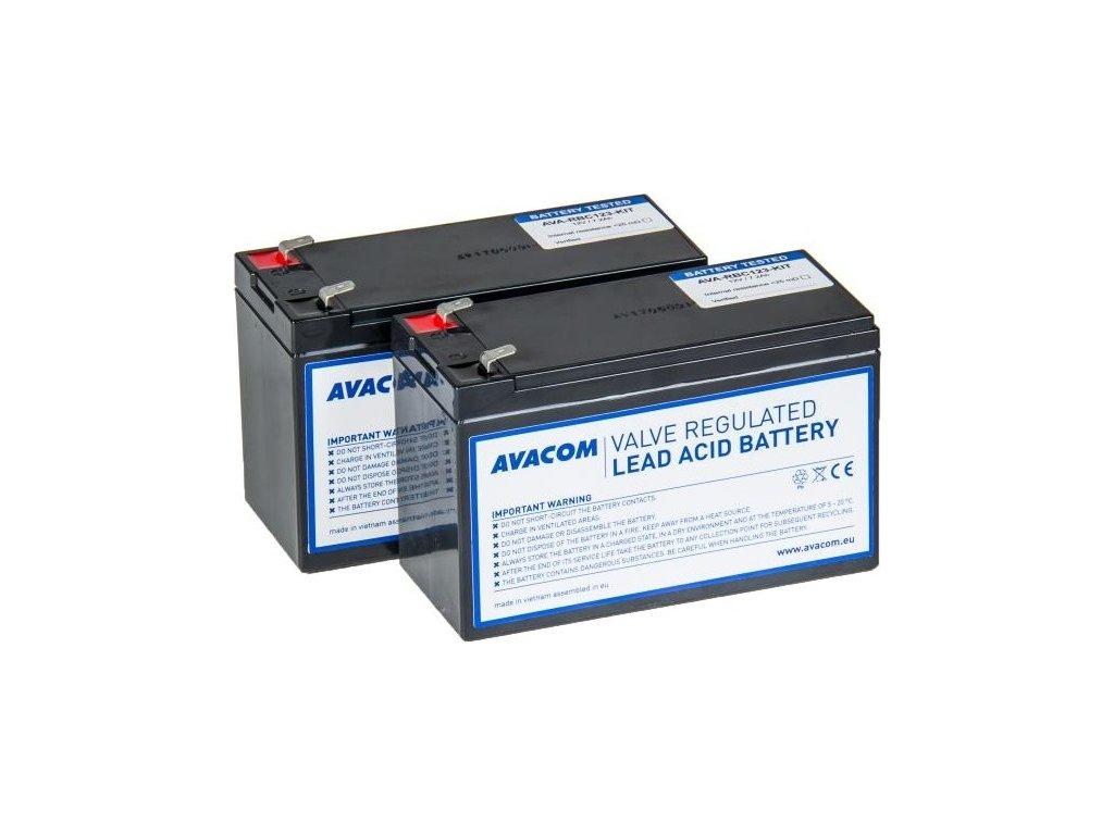 Bateriový kit Avacom pro renovaci RBC123 (2ks baterií)
