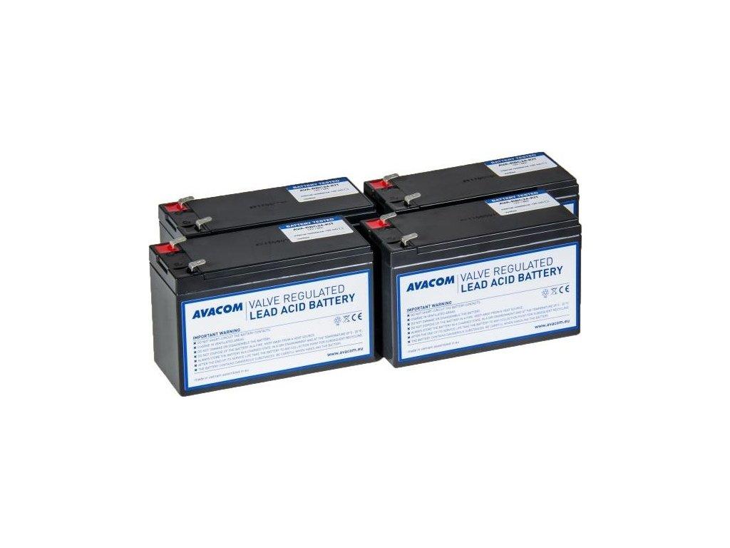 Bateriový kit Avacom pro renovaci RBC24 (4ks baterií)