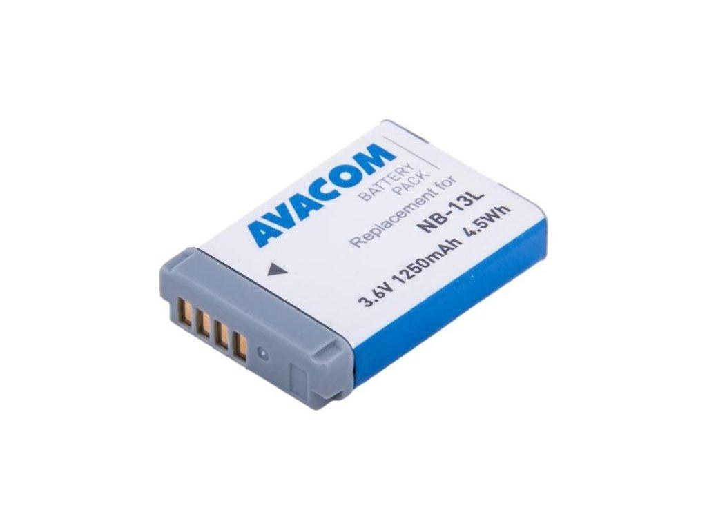 Baterie Avacom Canon NB-13L Li-Ion 3,6V 1250mAh
