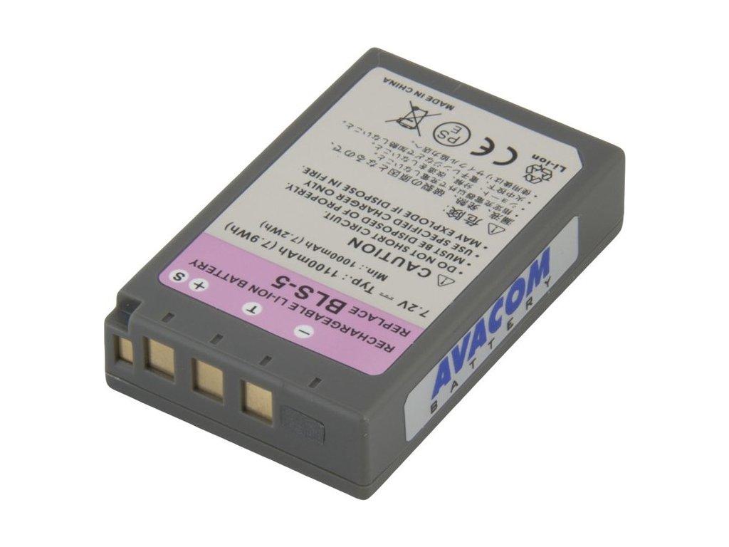 Baterie Avacom Olympus BLS-5 Li-ion 7.2V 1150mAh 7.9Wh