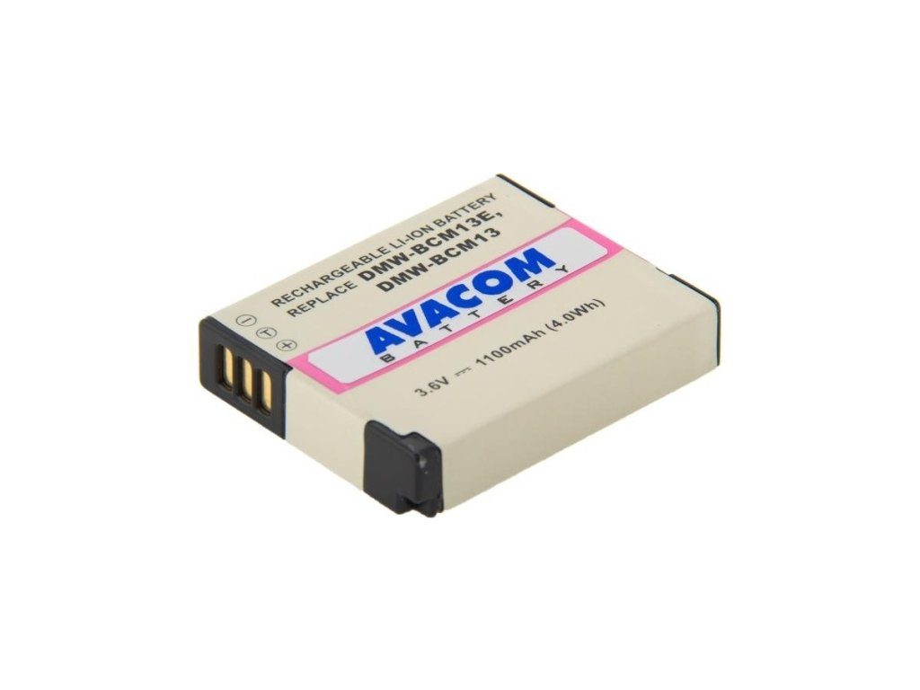 Baterie Avacom Panasonic DMW-BCM13/BCM13E Li-Ion 3,6V 1100mAh
