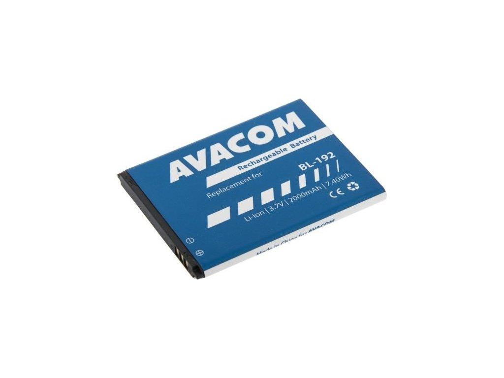 Baterie Avacom pro Lenovo A328, Li-Ion 3,7V 2000mAh (náhrada BL192)