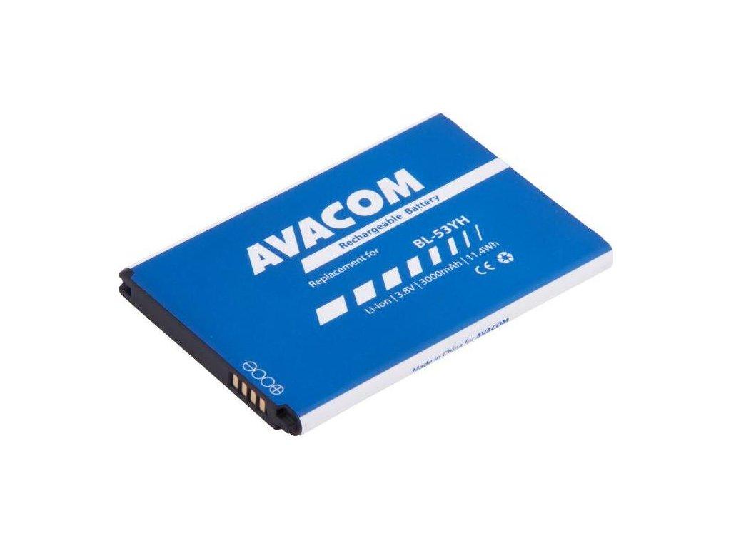 Baterie Avacom pro LG D855 G3 Li-Ion 3,8V 3000mAh (náhrada BL-53YH)