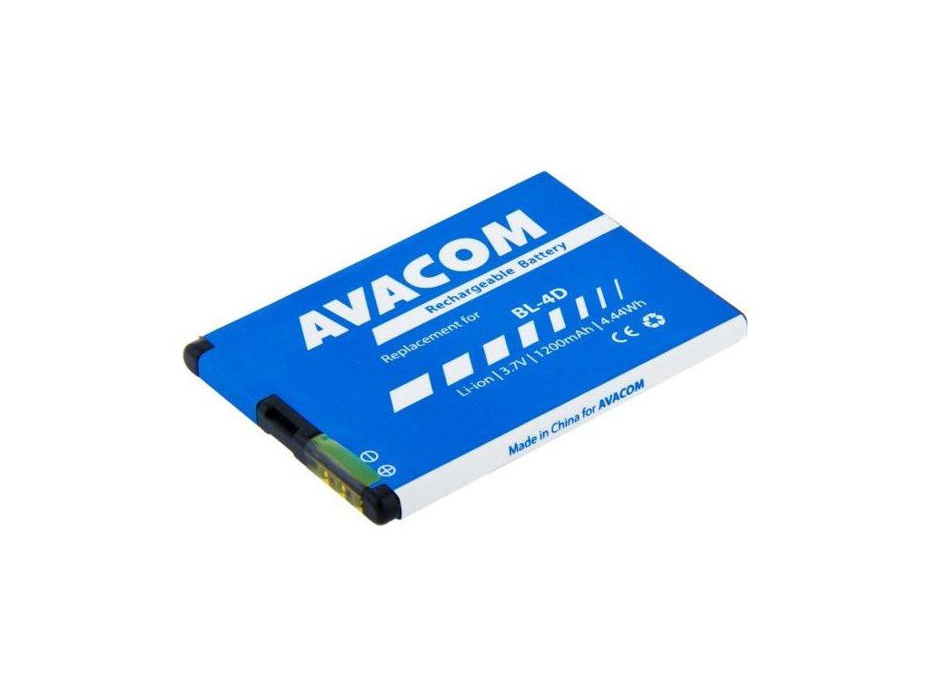 Baterie Avacom pro Nokia E7, N8 Li-Ion 3,7V 1200mAh (náhrada BL-4D)