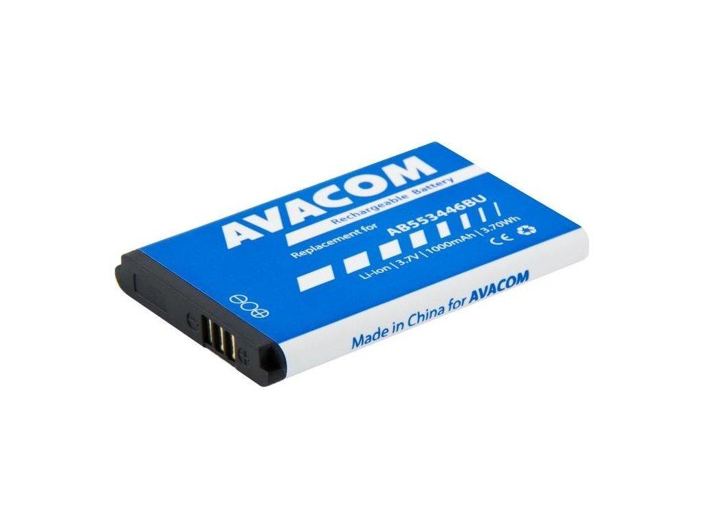 Baterie Avacom pro Samsung B2710, C3300 Li-Ion 3,7V 1000mAh, (náhrada AB553446BU)