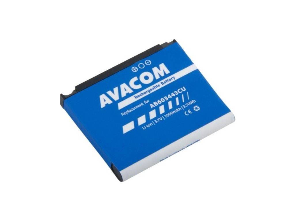 Baterie Avacom pro Samsung SGH-G800, S5230 Li-Ion 3,7V 1000mAh