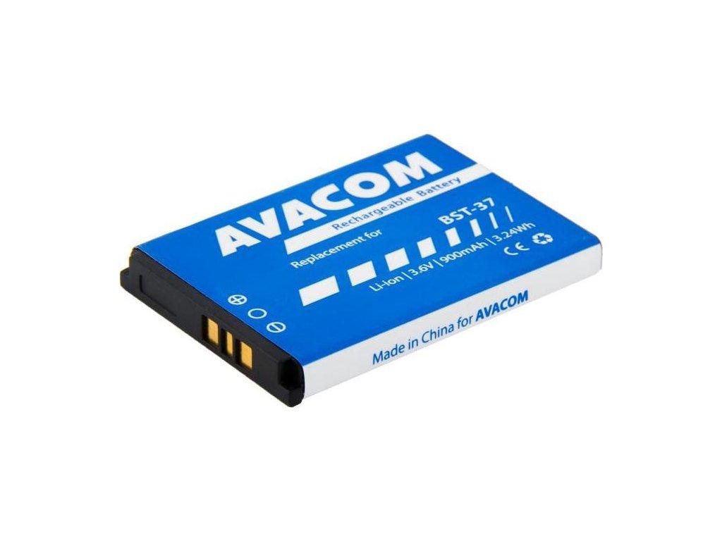 Baterie Avacom pro Sony Ericsson K750, W800 Li-Ion 3,7V 900mAh, (náhrada BST-37)