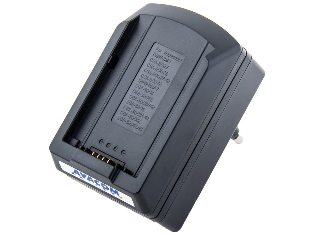 Nabíječka Avacom pro Li-Ion akumulátor Panasonic S-002 / S-006 - ACM77