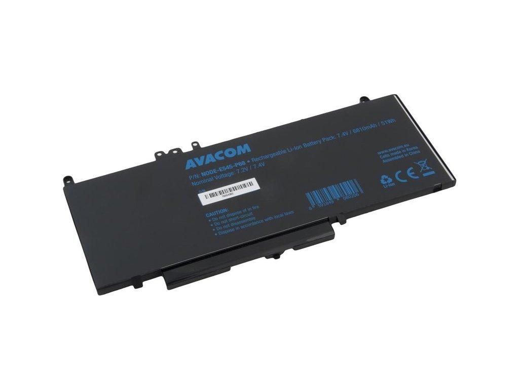 Baterie Avacom Dell Latitude E5450 Li-Pol 7,4V 6810mAh 51Wh