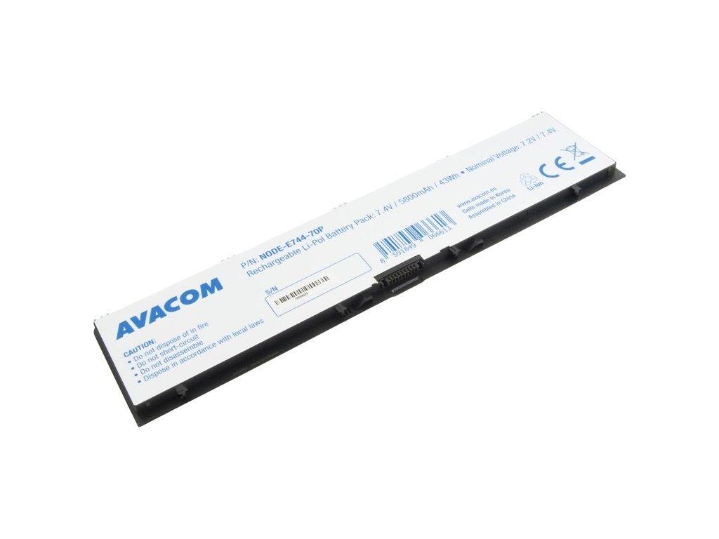 Baterie Avacom Dell Latitude E7440 Li-Pol 7,4V 5800mAh / 43Wh
