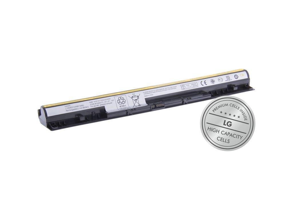 Baterie Avacom Lenovo IdeaPad G400S Li-Ion 14,4V 3350mAh 48Wh