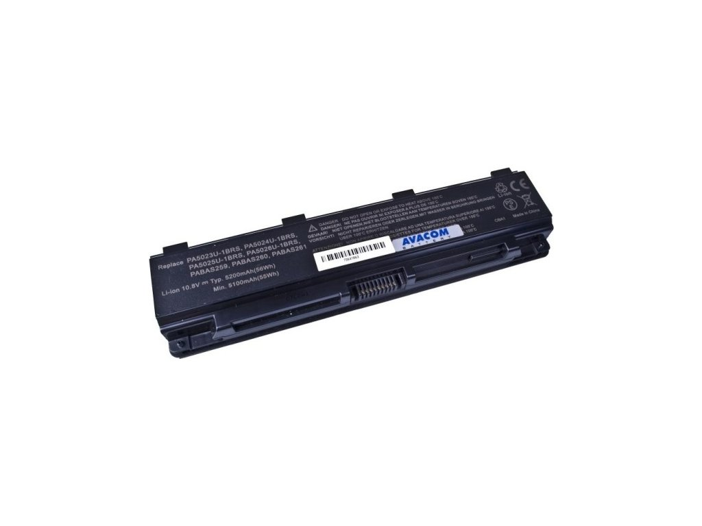 Baterie Avacom pro Toshiba Satellite L850 Li-Ion 10,8V 5200mAh