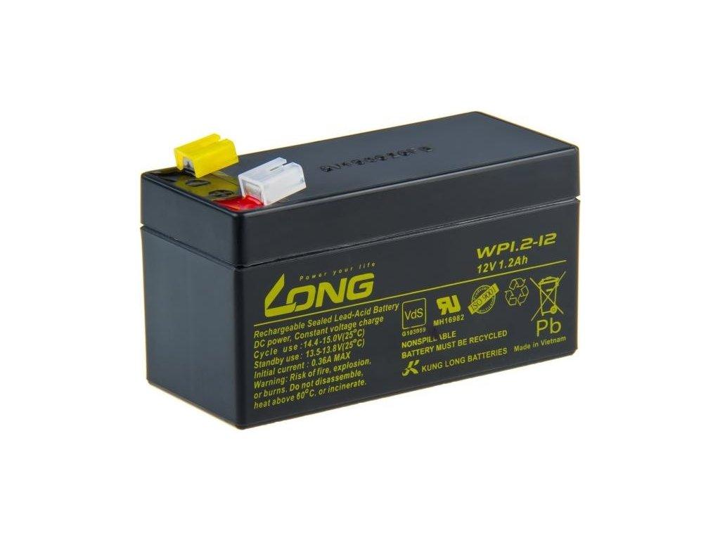 Olověný akumulátor Avacom Long 12V 1,2Ah F1 (WP1.2-12)