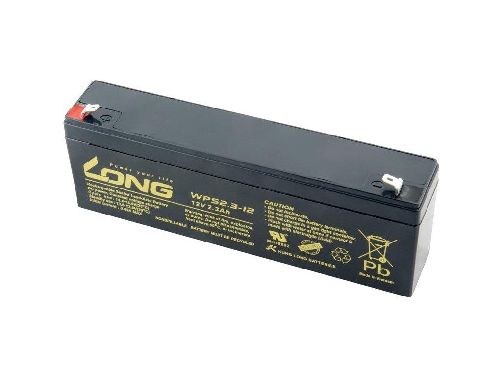 Olověný akumulátor Avacom Long 12V 2,3Ah F1 (WPS2.3-12)