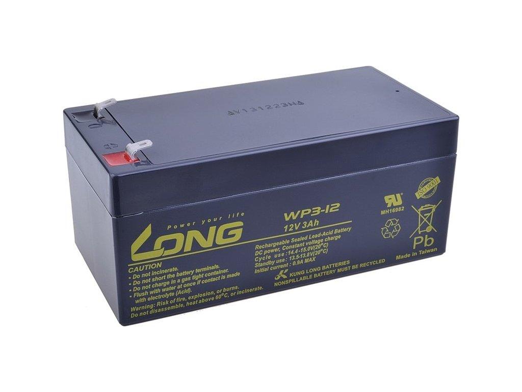 Olověný akumulátor Avacom Long 12V 3Ah F1 (WP3-12)