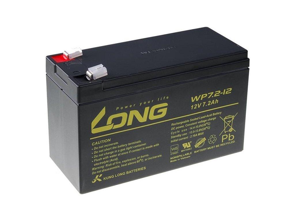 Olověný akumulátor Avacom Long 12V 7,2Ah F2 (WP7.2-12 F2)