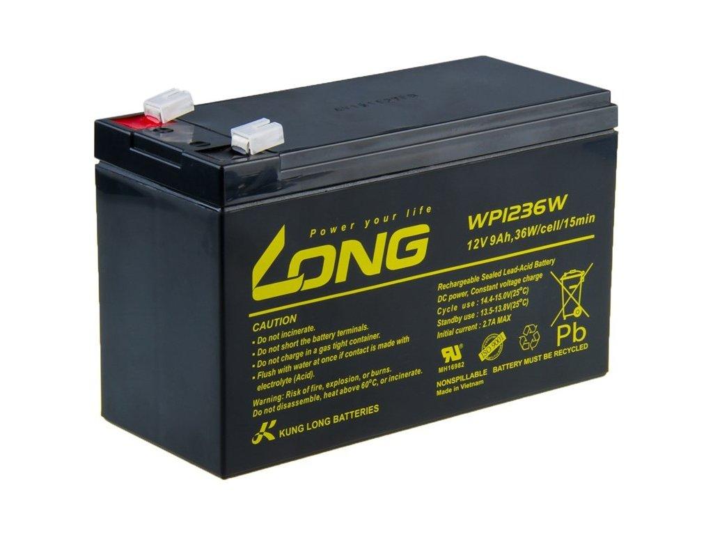 Akumulátor Avacom Long 12V 9Ah HighRate F2
