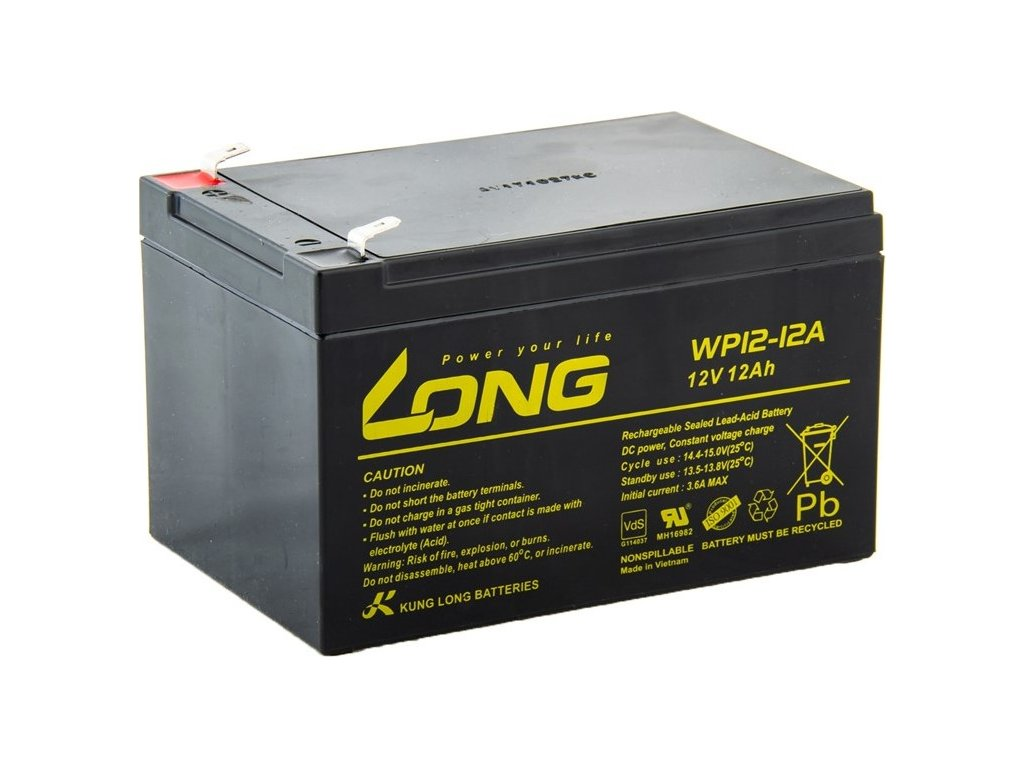 Akumulátor Avacom Long 12V 12Ah F2