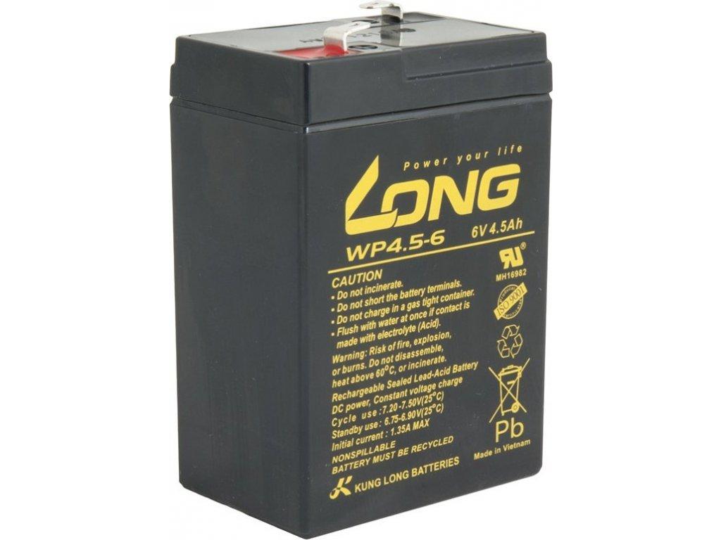 Akumulátor Avacom Long 6V 4,5Ah F1