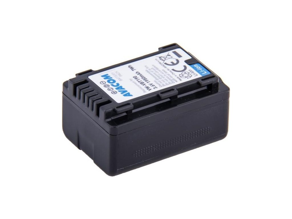 Baterie Avacom Panasonic VW-VBT190 Li-Ion 3.6V 1950mAh 7Wh
