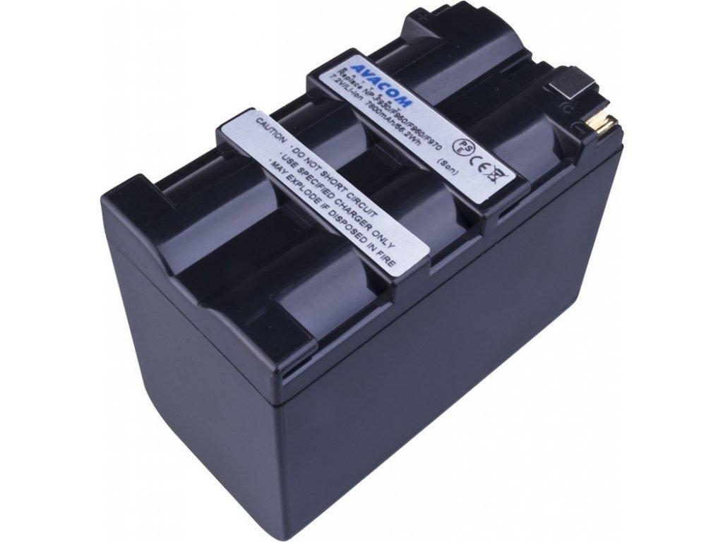 Baterie Avacom Sony NP-F970 Li-Ion 7.2V 7800mAh 56.2 Wh