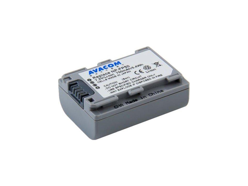 Baterie Avacom Sony NP-FP50 Li-Ion 7.2V 750mAh 5.4Wh