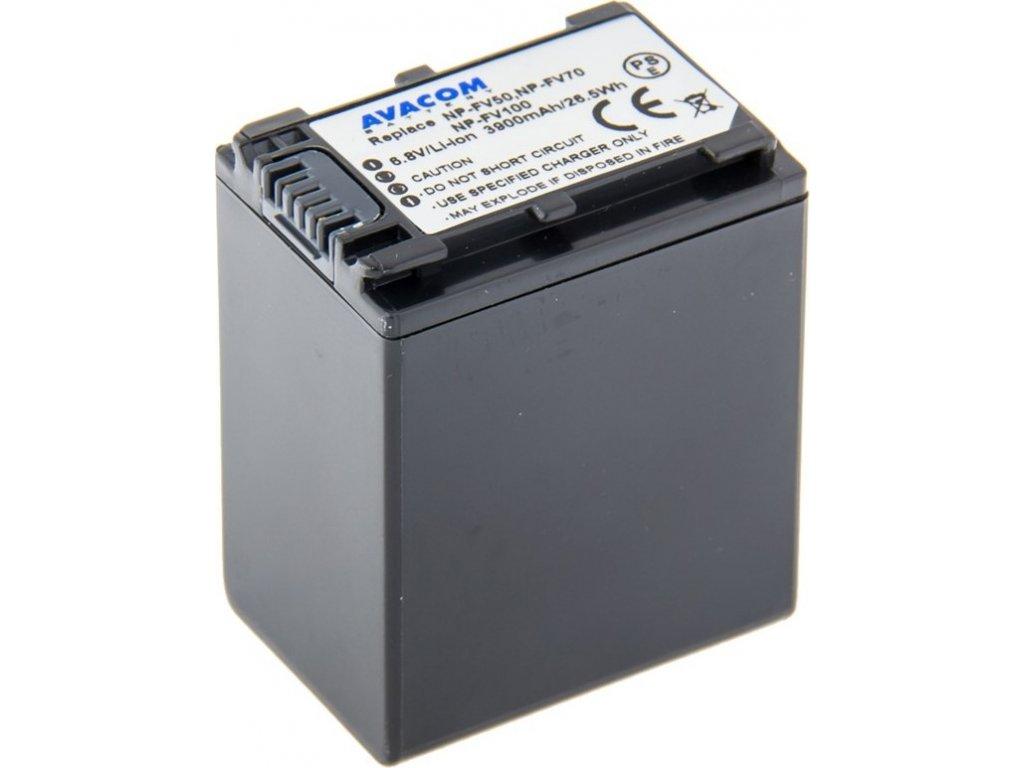 Baterie Avacom Sony NP-FV100 Li-Ion 6.8V 3900mAh 26.5Wh