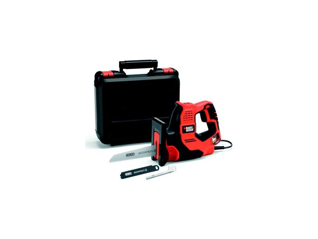 Pila univerzální Black&Decker Scorpion RS890EK, technologie Autoselect