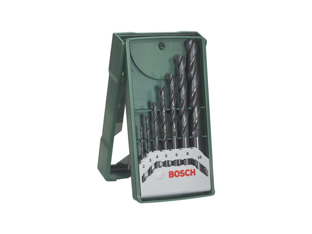 Sada vrtáků Bosch 7 dílná X-Line do kovu