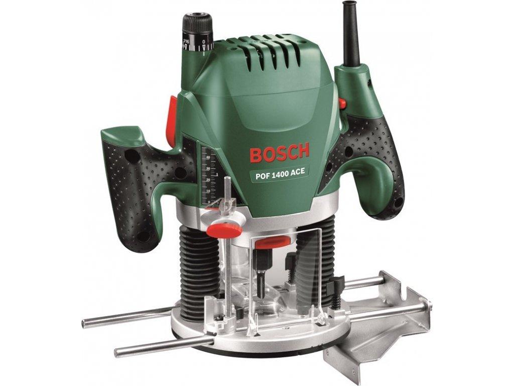 Fréza horní Bosch POF 1400 ACE + příslušenství